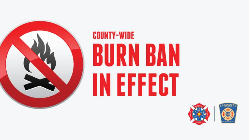 Burn Ban Now In Effect