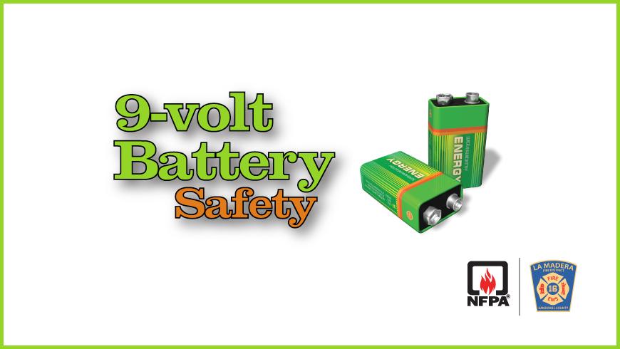 9-volt Battery Safety